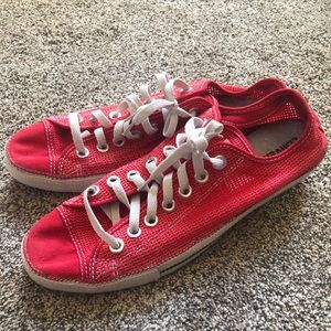 Men's Size 11 Red Converse